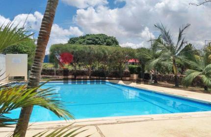 A louer, appartement meublé de 3 chambres au 1er étage d'une résidence sécurisée avec piscine