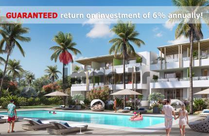 Opportunité d'investir dans un appartement avec une RENTABILITÉ GARANTIE de 6% par année !