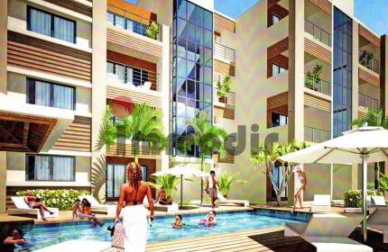 À vendre à Trou aux Biches appartements neufs dans une résidence sécurisée proche de la plage